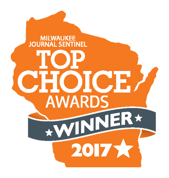 Milwaukee Journal Sentinel Top Choice Awards Winner 2017